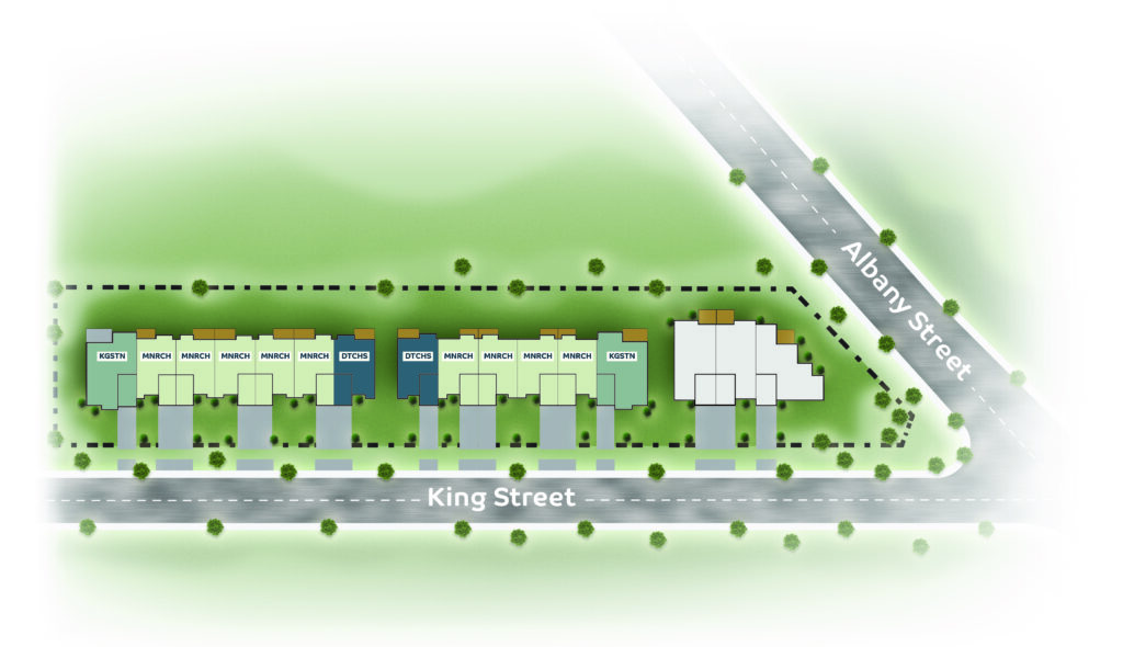 Fort Erie Townhomes Bridgeview Site Plan